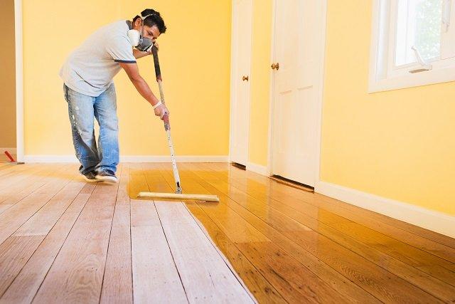 Cara Mengecat Lantai Kayu Dengan Mudah