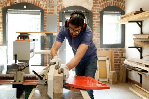Aturan keamanan wood worker