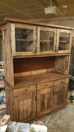 lemari kayu palet