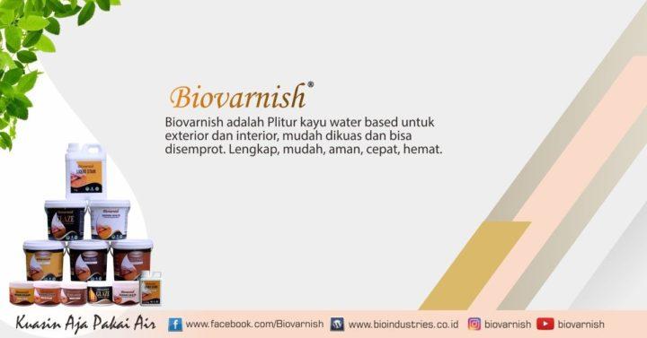 Rangkaian produk Biovarnish