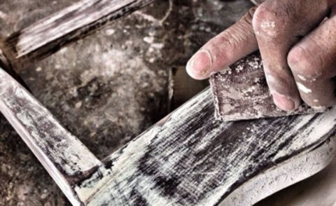 Cara Mempersiapkan Tekstur Kayu Untuk Finishing Furniture Rustic - rustic kayu