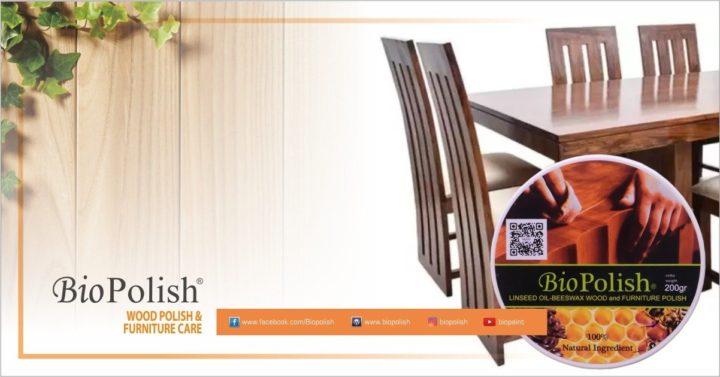 Plitur Kayu Serbaguna untuk Furniture Interior dan Eksterior - Biopolish Linseed Oil