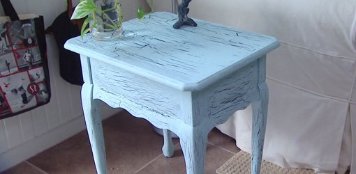 tips sederhana furniture patina