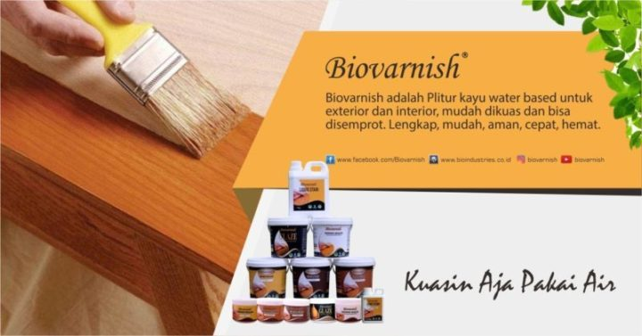 Produk Biovarnish
