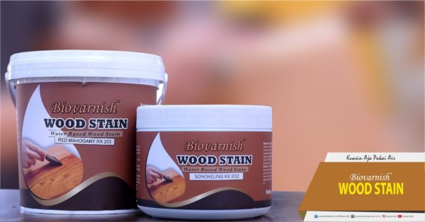 Biovarnish wood stain