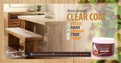 produk finishing Biovarnish clear coat