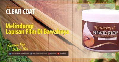 produk plitur kayu Biovarnish clear coat