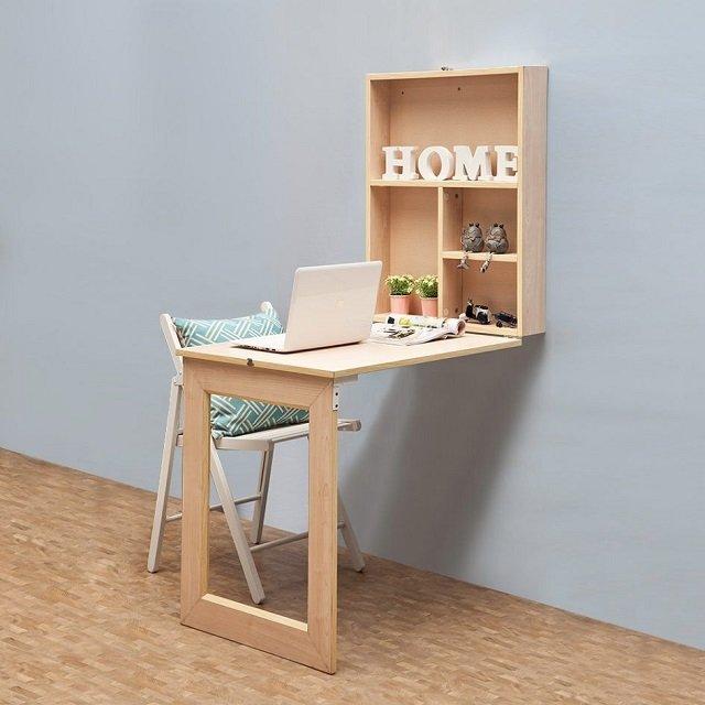 Cara Membuat Meja Lipat Dinding Dari Kayu Lapis
